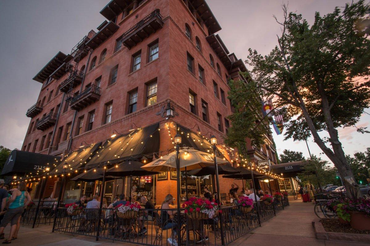Hotel Exterior | Historic Hotel Boulderado