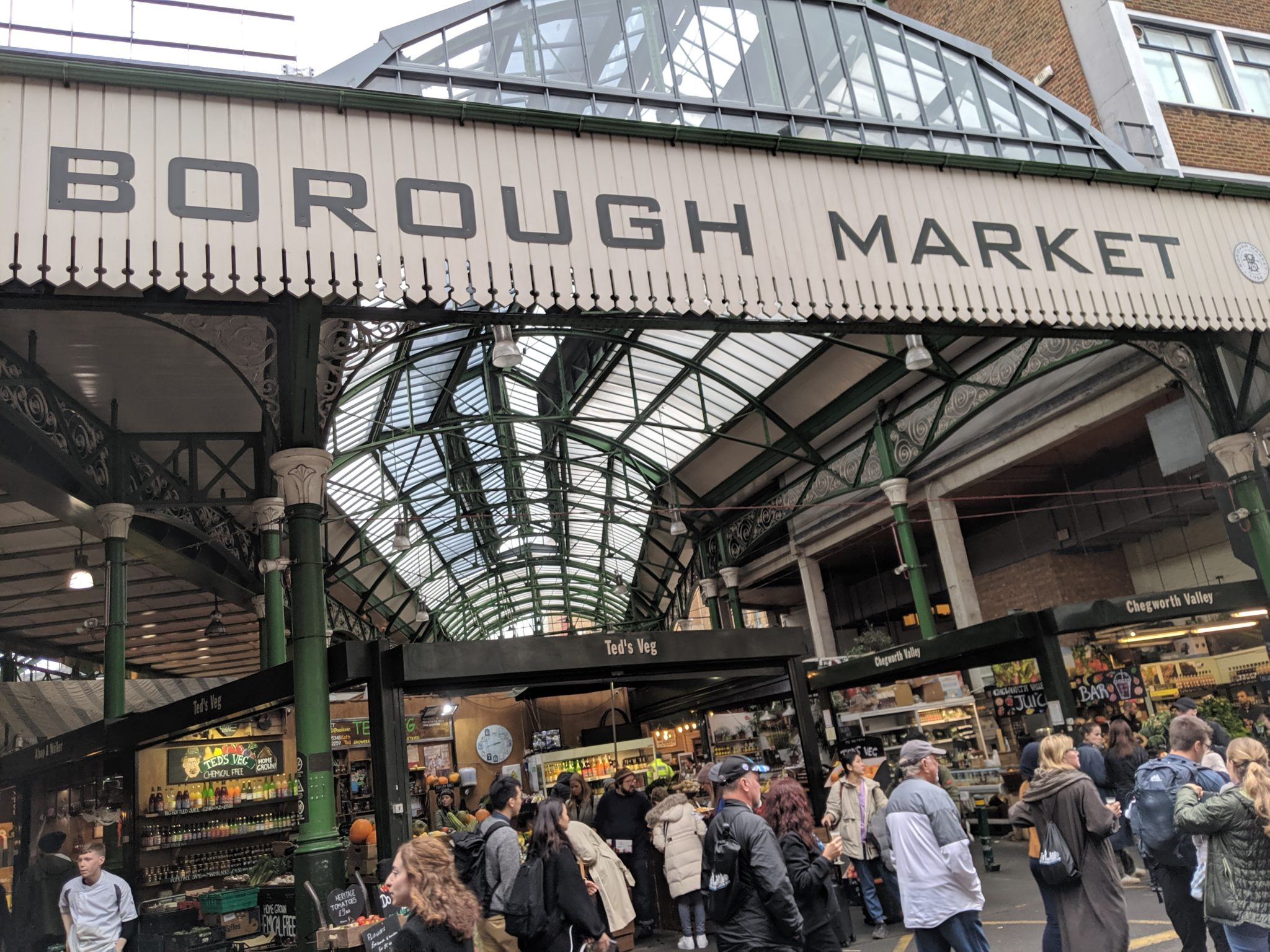 Playground Earth | Borough Market | London