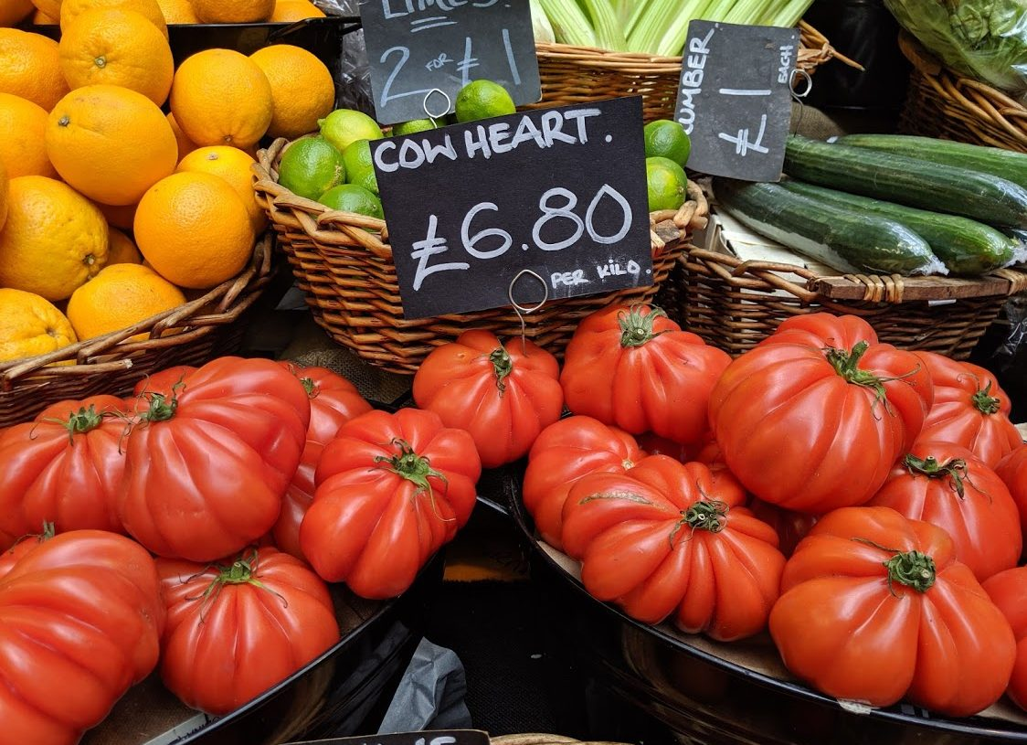 Playground Earth | Borough Market | London | Veggies
