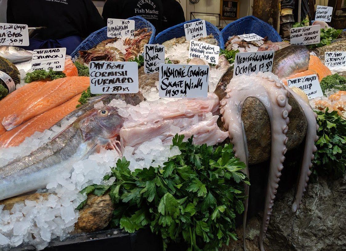 Playground Earth | Borough Market | London | Fresh Fish