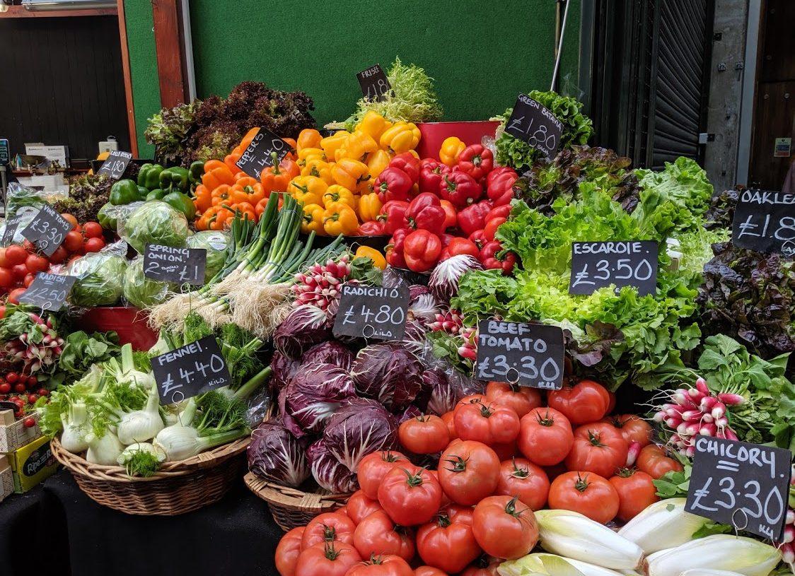Playground Earth   Borough Market l London   Veggies