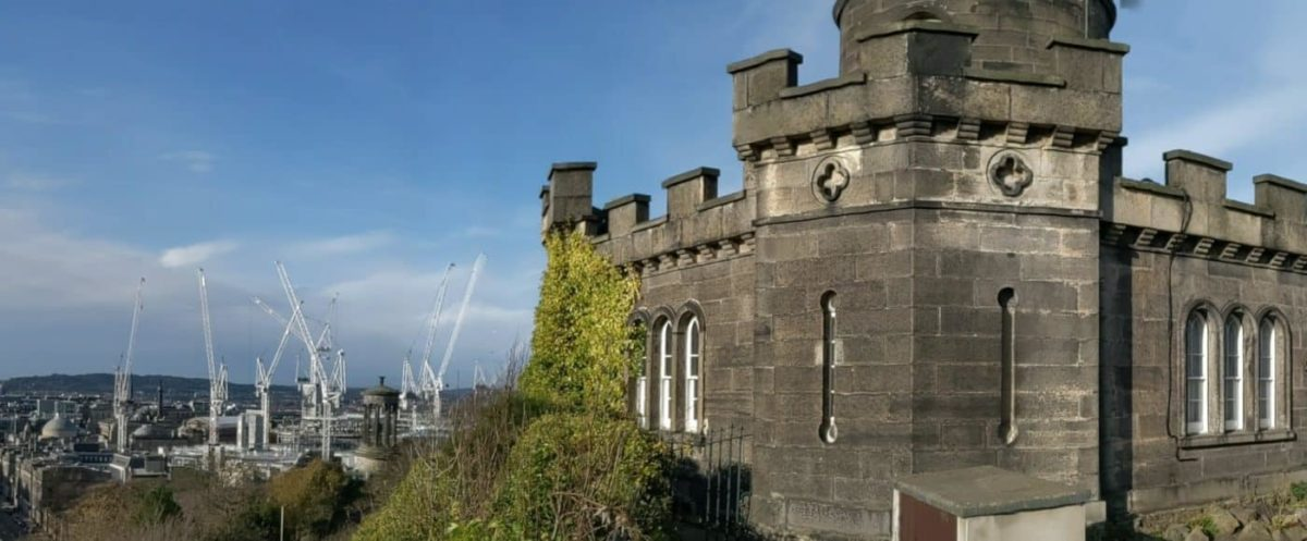 Playground Earth   Edinburgh l Castle & Cranes