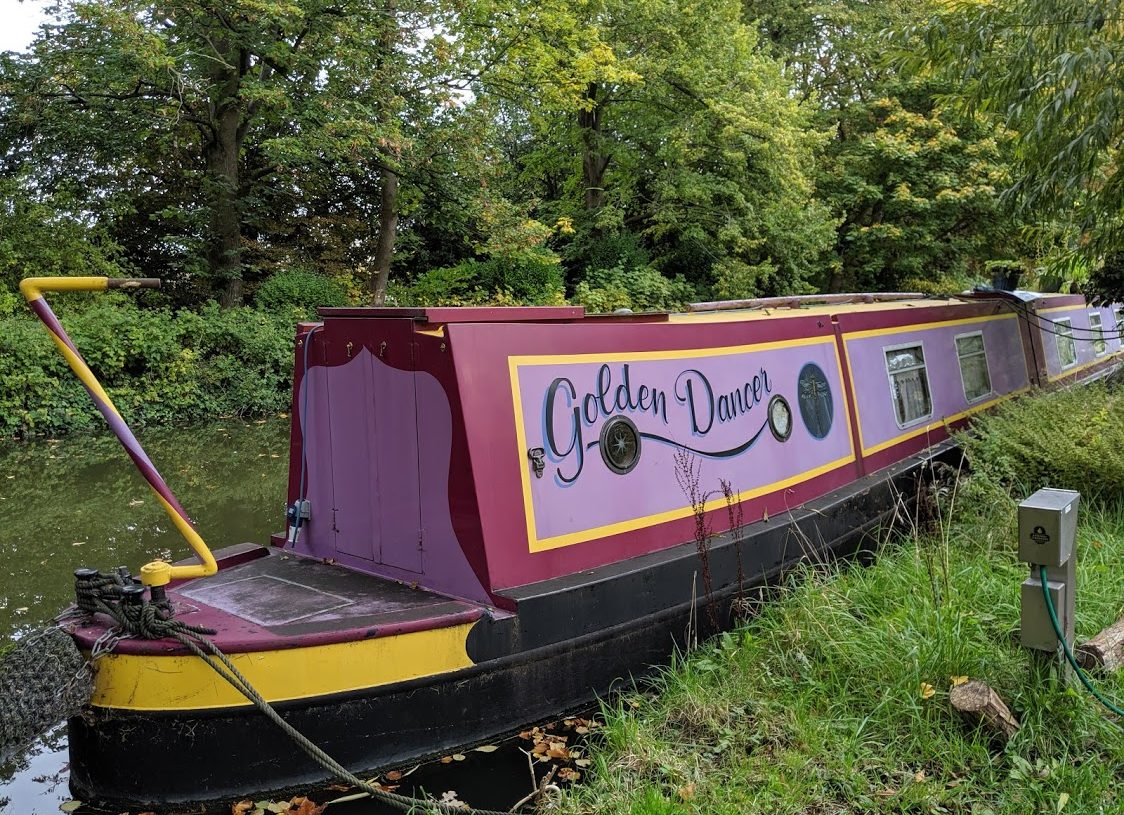 Playground Earth | Oxford Canals | Golden Dancer