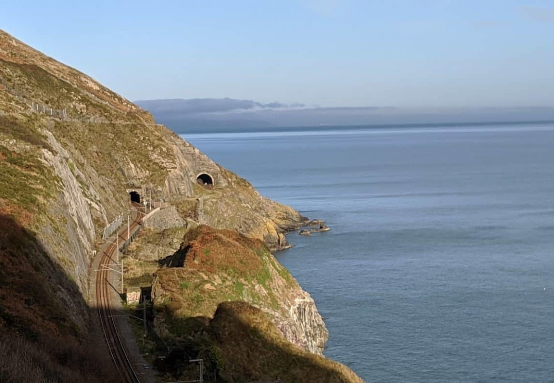 Playground Earth | Bray's Cliff Walk | Train Tunnels