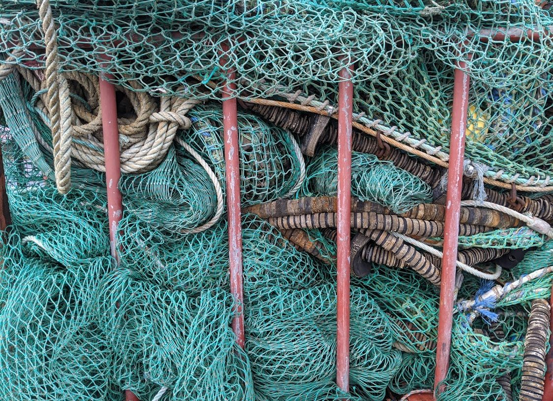 Playground Earth | Howth Fishing Village l Nets