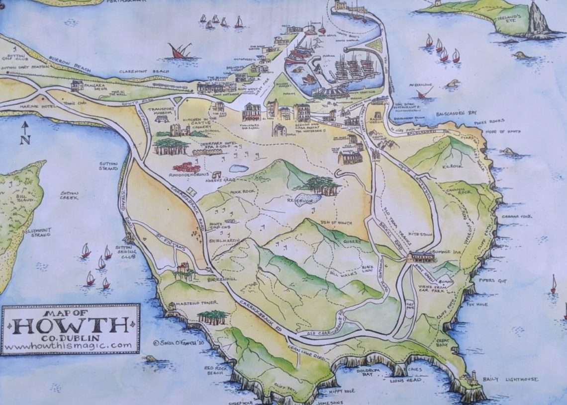 Playground Earth l Howth l Map