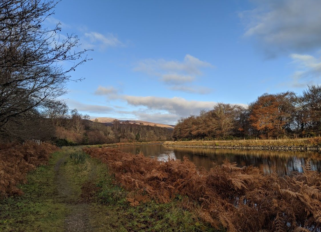 Playground Earth l Caledonian Canal l Fall Colors