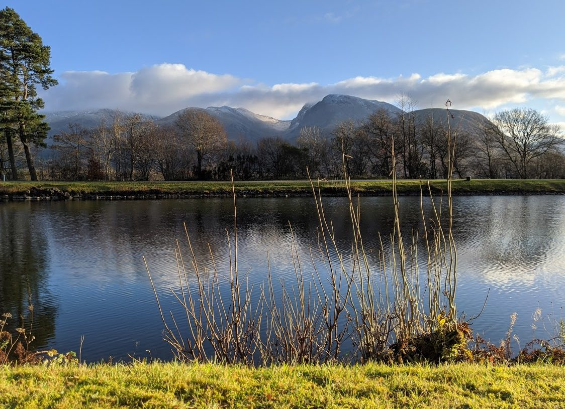 Playground Earth | Caledonian Canal l Ben Nevis in the background
