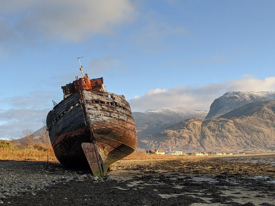 Playground Earth Travel | Fort William Ghost Ship