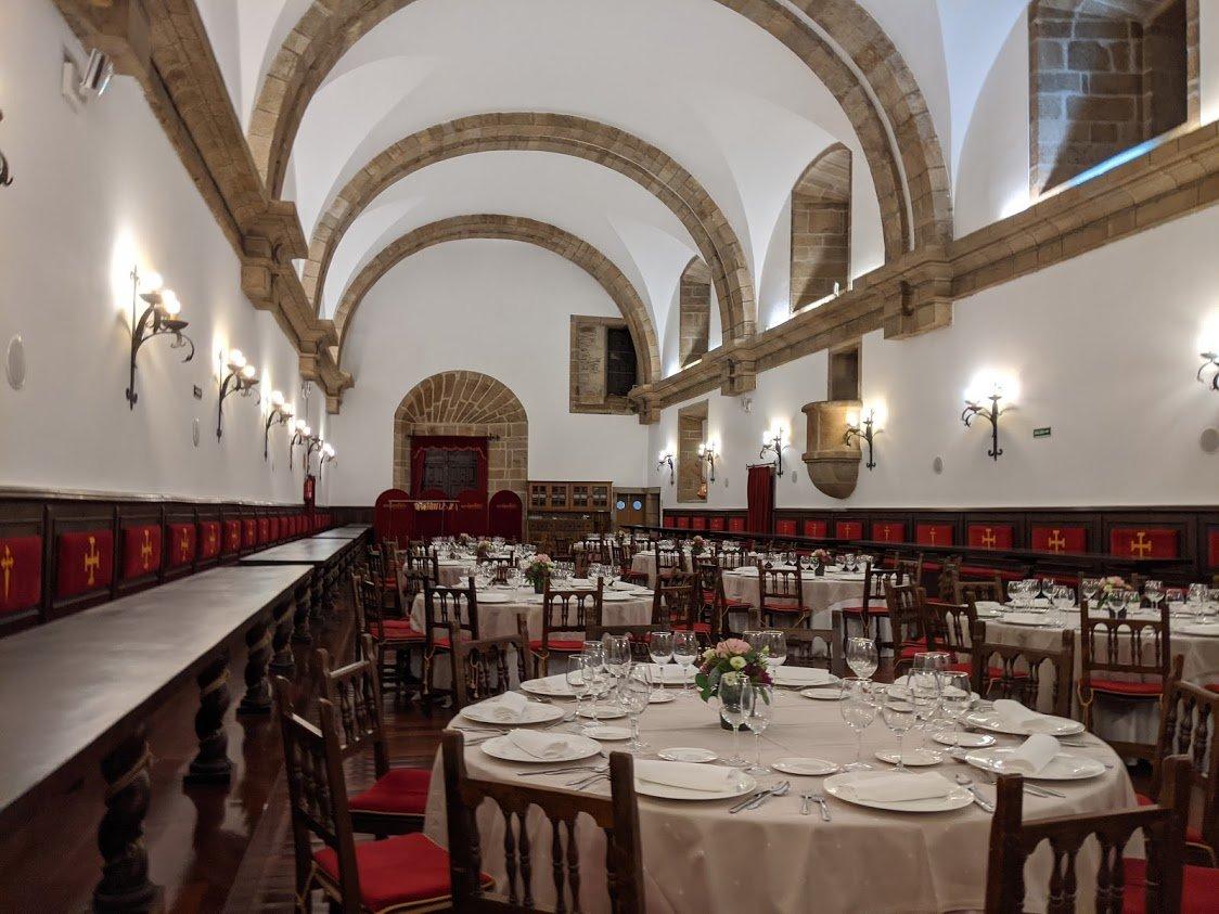 Playground Earth l Santiago de Compostela | San Francisco Monumento Hotel l Main Dining Hall