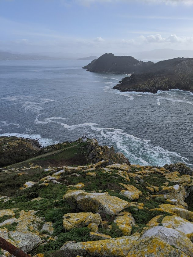 playground earth spain cies island view