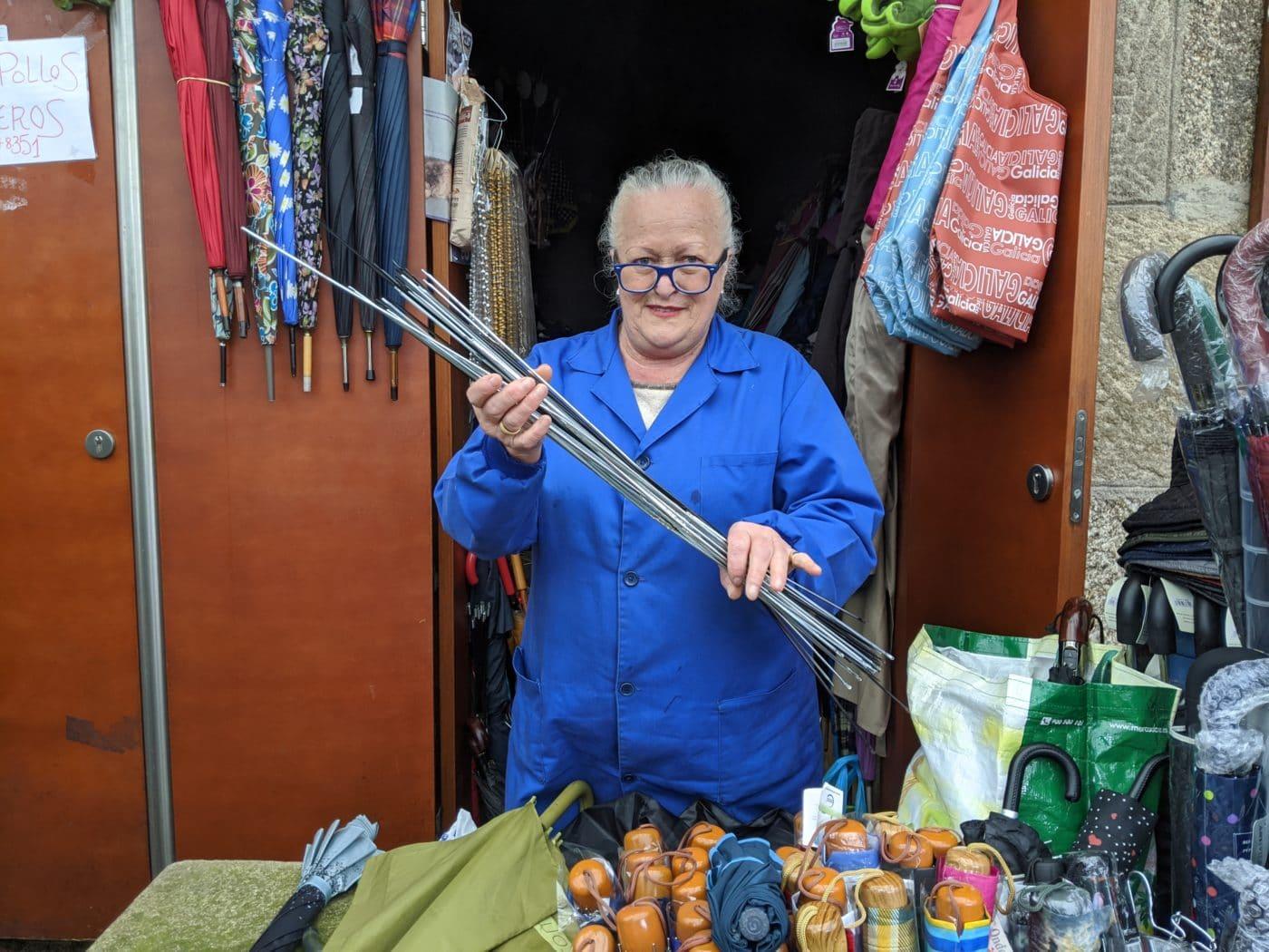 Playground Earth | Spain | Virginia the Umbrella Lady