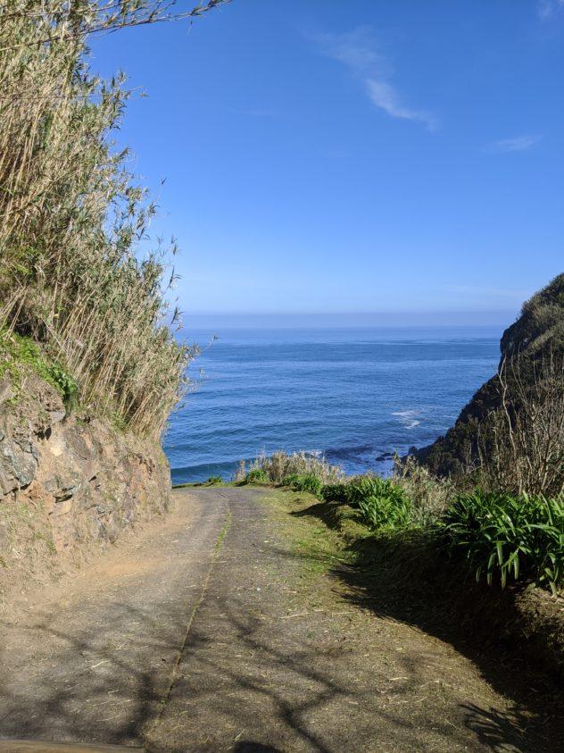 playground earth hike steep road