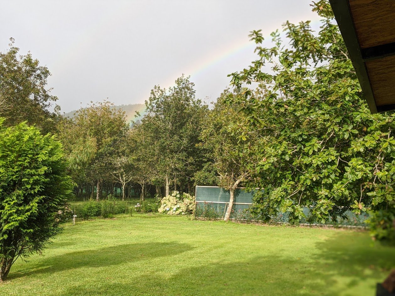 Playground Earth l Furnas Lake l Breakfast Rainbow