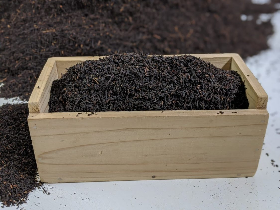 Playground Earth l Black Tea Ready for Packaging
