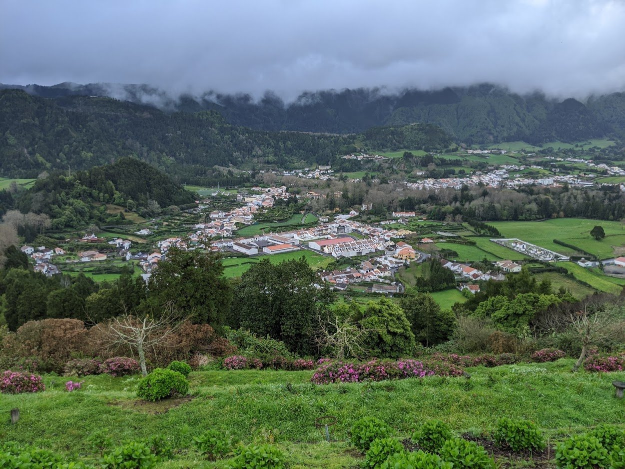 Playground Earth | High above Furnas Village
