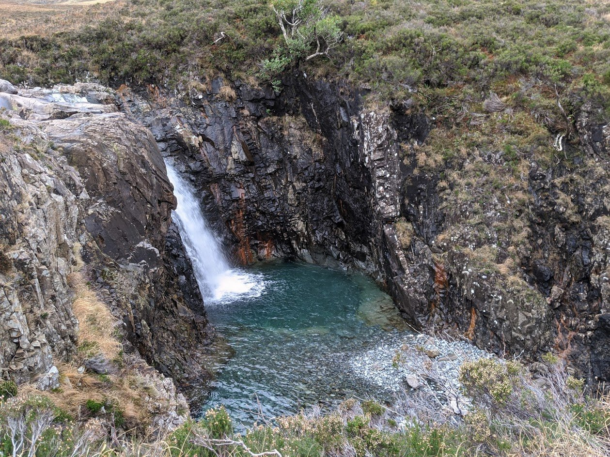 Playground Earth | Fairy Pool l 35 foot drop
