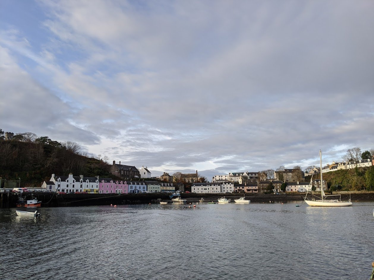 Playground Earth | Departing Portree Harbor