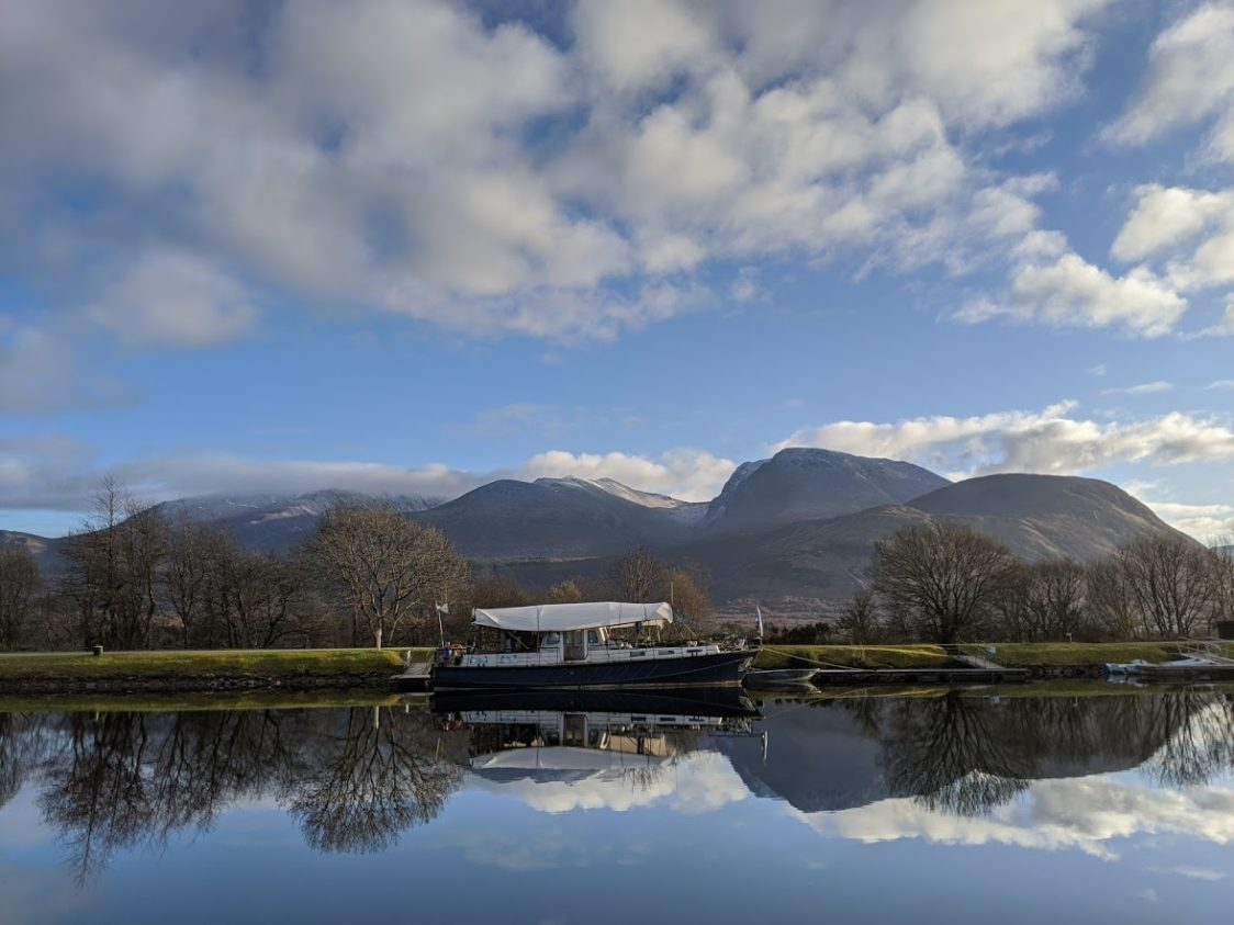 Playground Earth l Caledonian Canal l Facing Ben Nevis Range