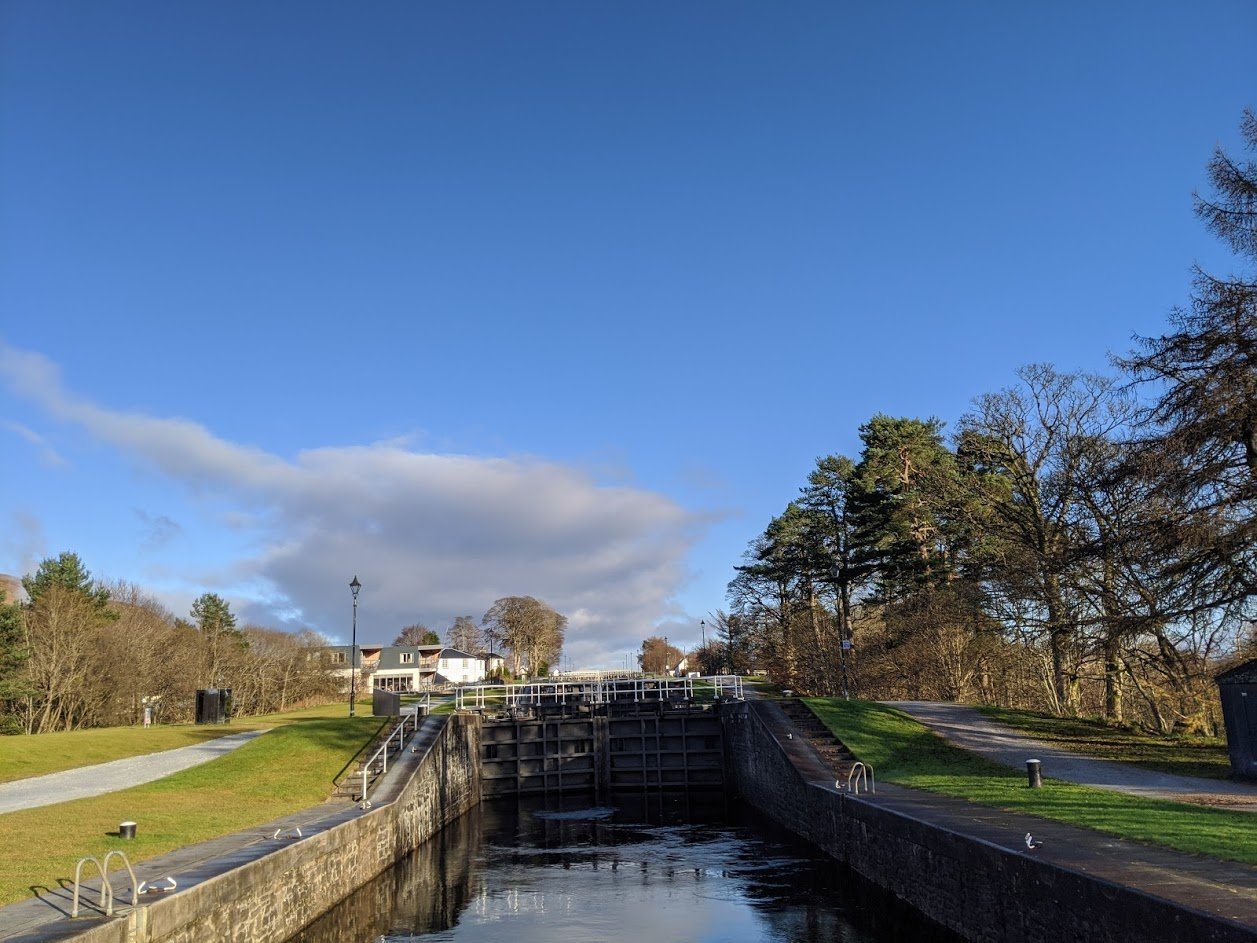Playground Earth l Caledonian Canal l Neptune's Staircase