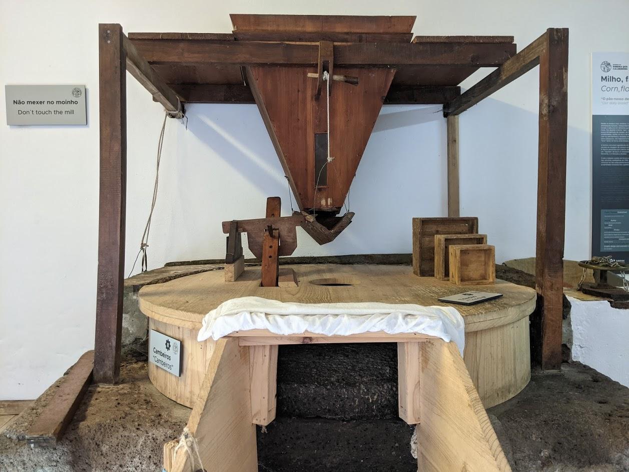 PGE l Ribeira dos Caldeirões l Flour mill