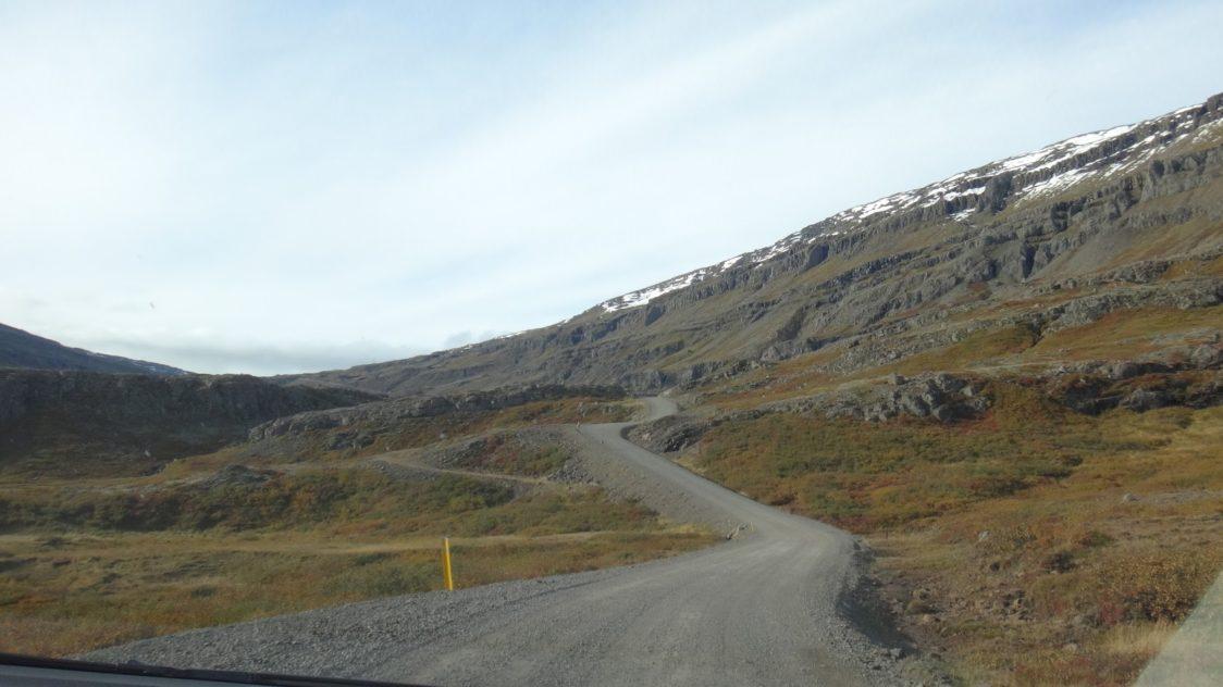 PGE l Iceland l Öxi Pass l Gaining altitude