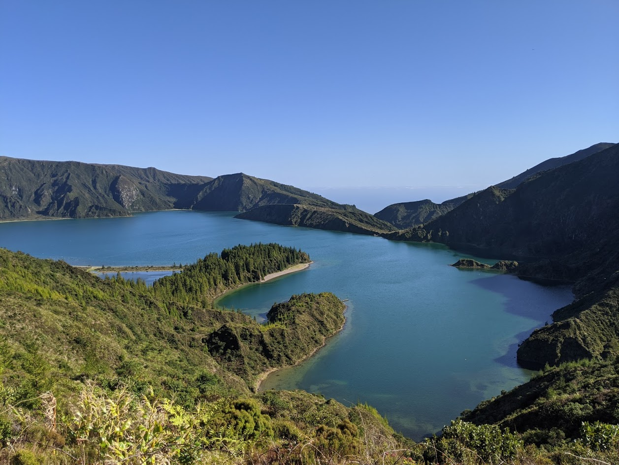 PGE l Lagoa do Fogo Overlook | 5 hikes on the island of Sao Miguel