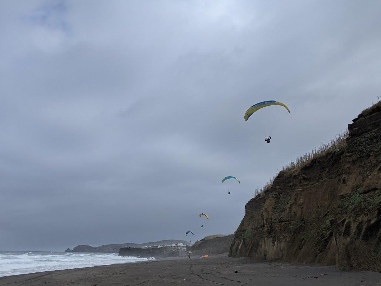 PGE l Santa Barbara Beach l Cleared for take-off