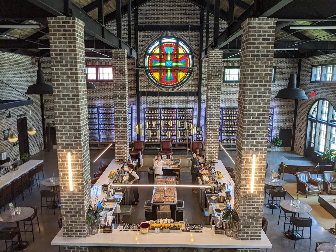 PGE l Burnt Church Distillery l Sanctuary & Stained Glass