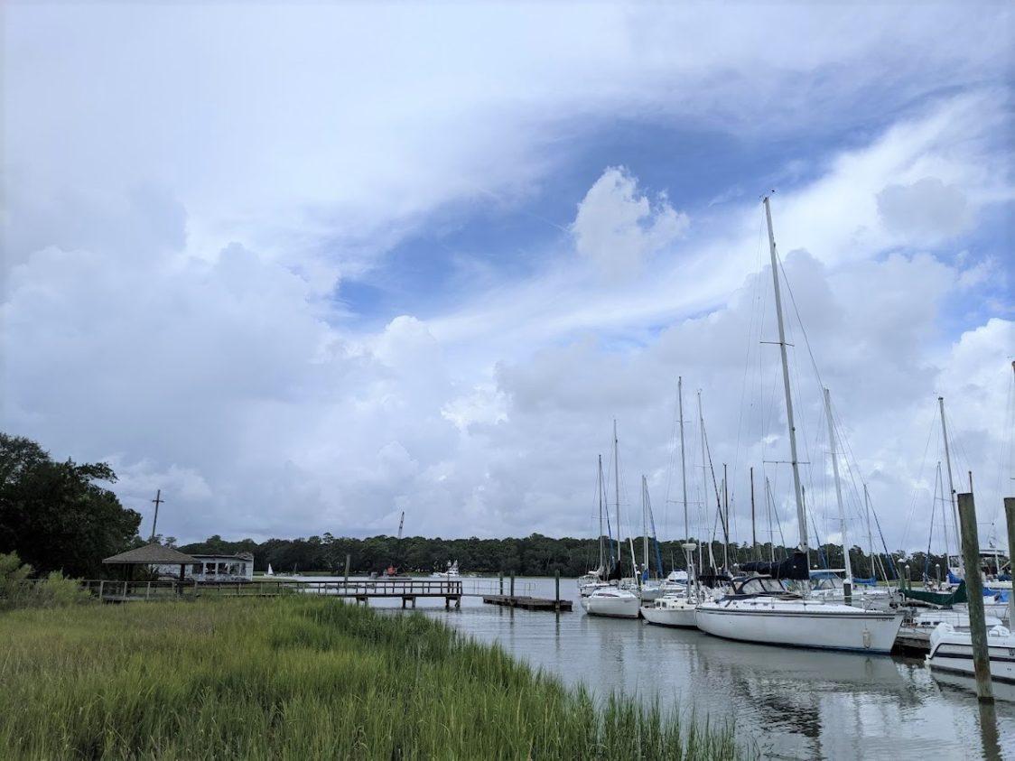Sailing in Savannah